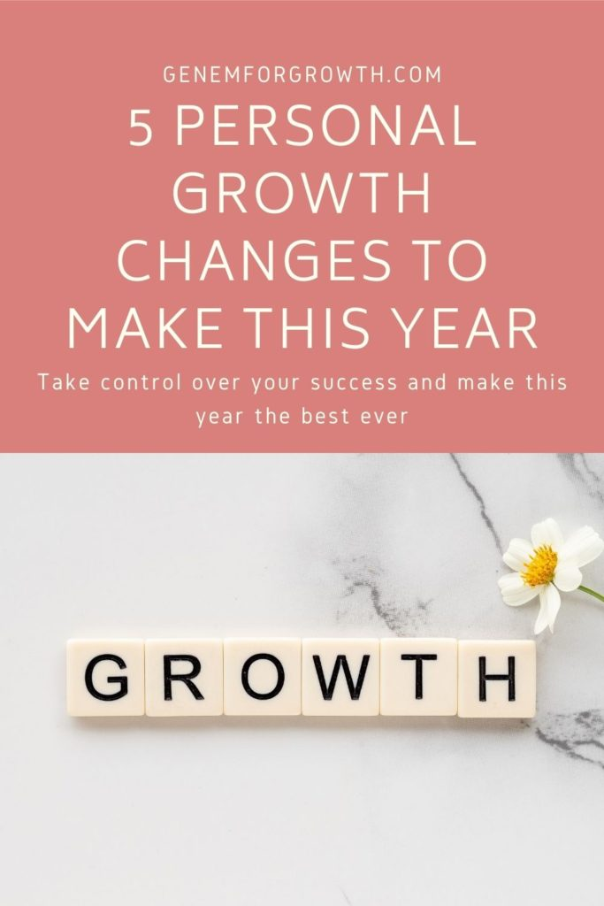 personal growth changes