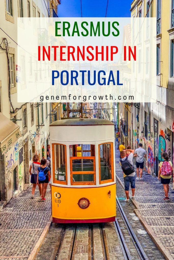 erasmus internship in portugal