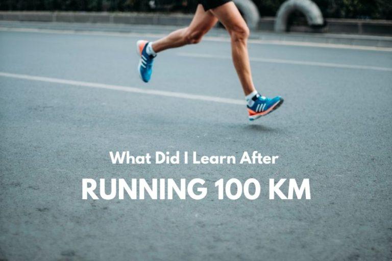 running 100
