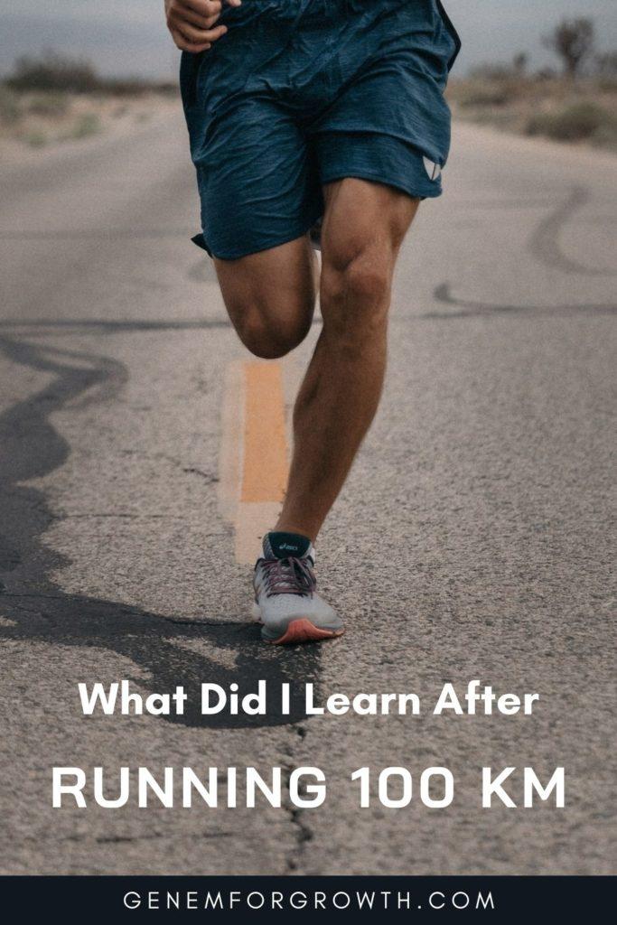 running 100 km