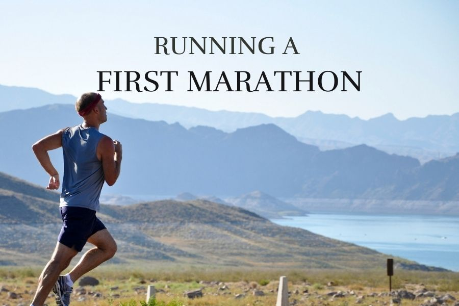 running a first marathon